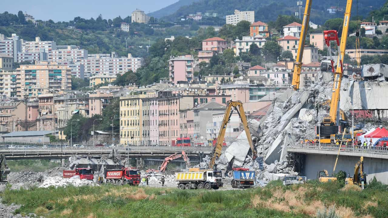 Itália cessa concessão de autoestradas à gestora da ponte Morandi