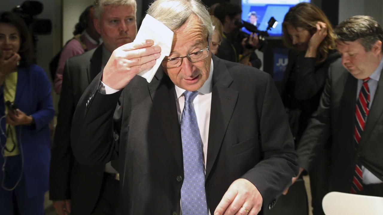 Jean-Claude Juncker 'apanhado' em polémica de escutas ilegais