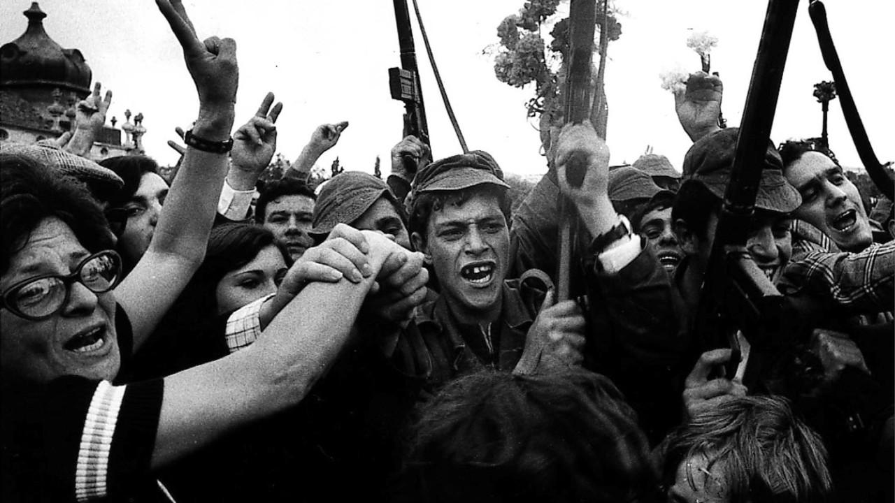 44 anos da Revolução comemorados no Parlamento e nas ruas de Lisboa