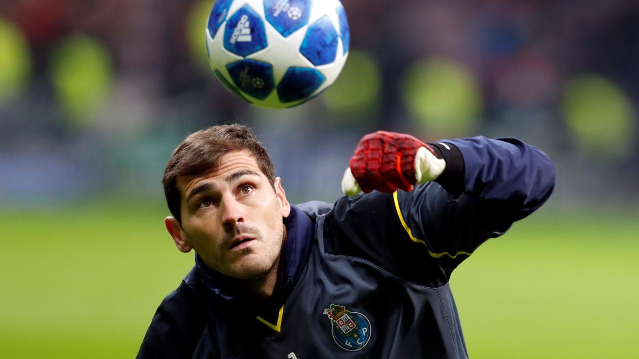 Casillas revela acordo para renovar com o FC Porto