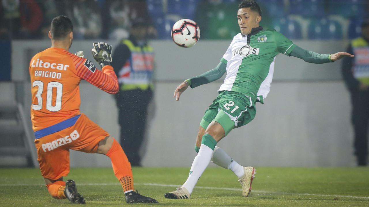 [0-2] Feirense-Sporting: Agora Bruno Fernandes! Leão está na frente