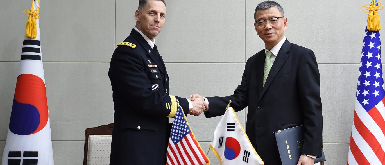 Coreia do Sul e EUA iniciam diálogo oficial sobre escudo antimísseis