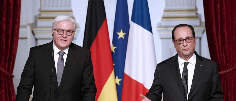 """Alemanha e França preparadas para liderar """"lado a lado"""" depois do Brexit"""