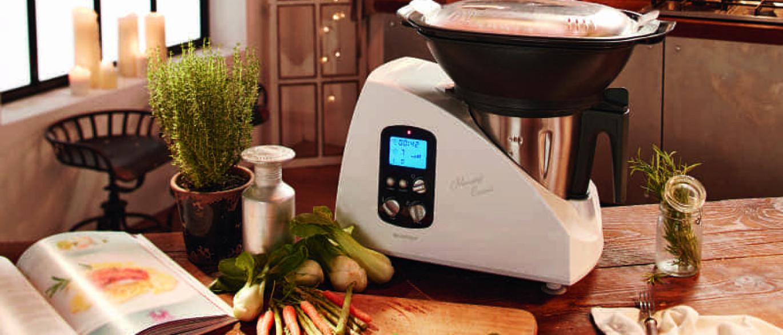 Not cias ao minuto conhe a o monsieur cuisine o robot for Robot lidl monsieur cuisine
