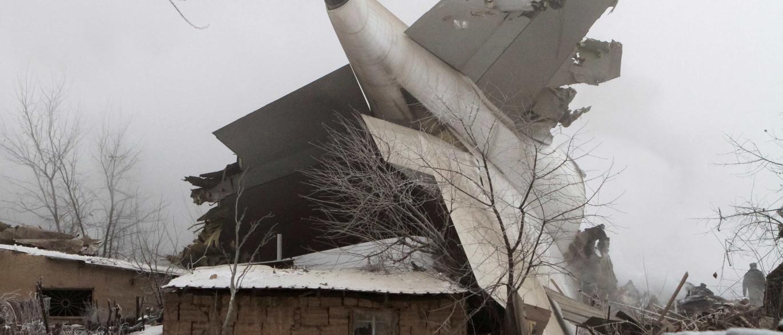 """Queda de avião turco no Quirguistão foi causada por """"erro do piloto"""""""