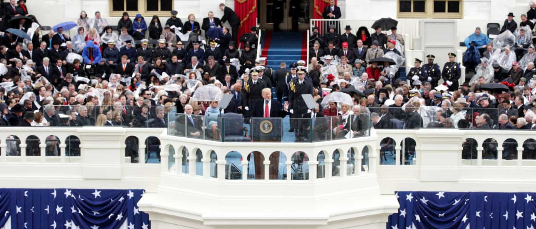 """Trump é o 45.º presidente dos EUA e """"o povo voltou a ser quem manda"""""""