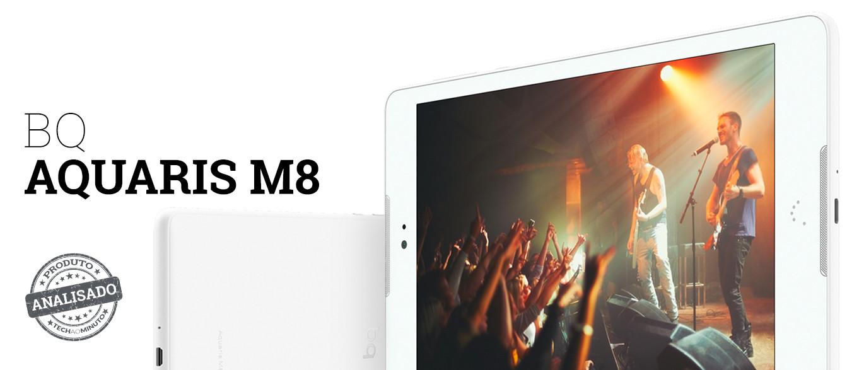 Aquaris M8: O tablet que vai querer para ter séries e filmes no bolso