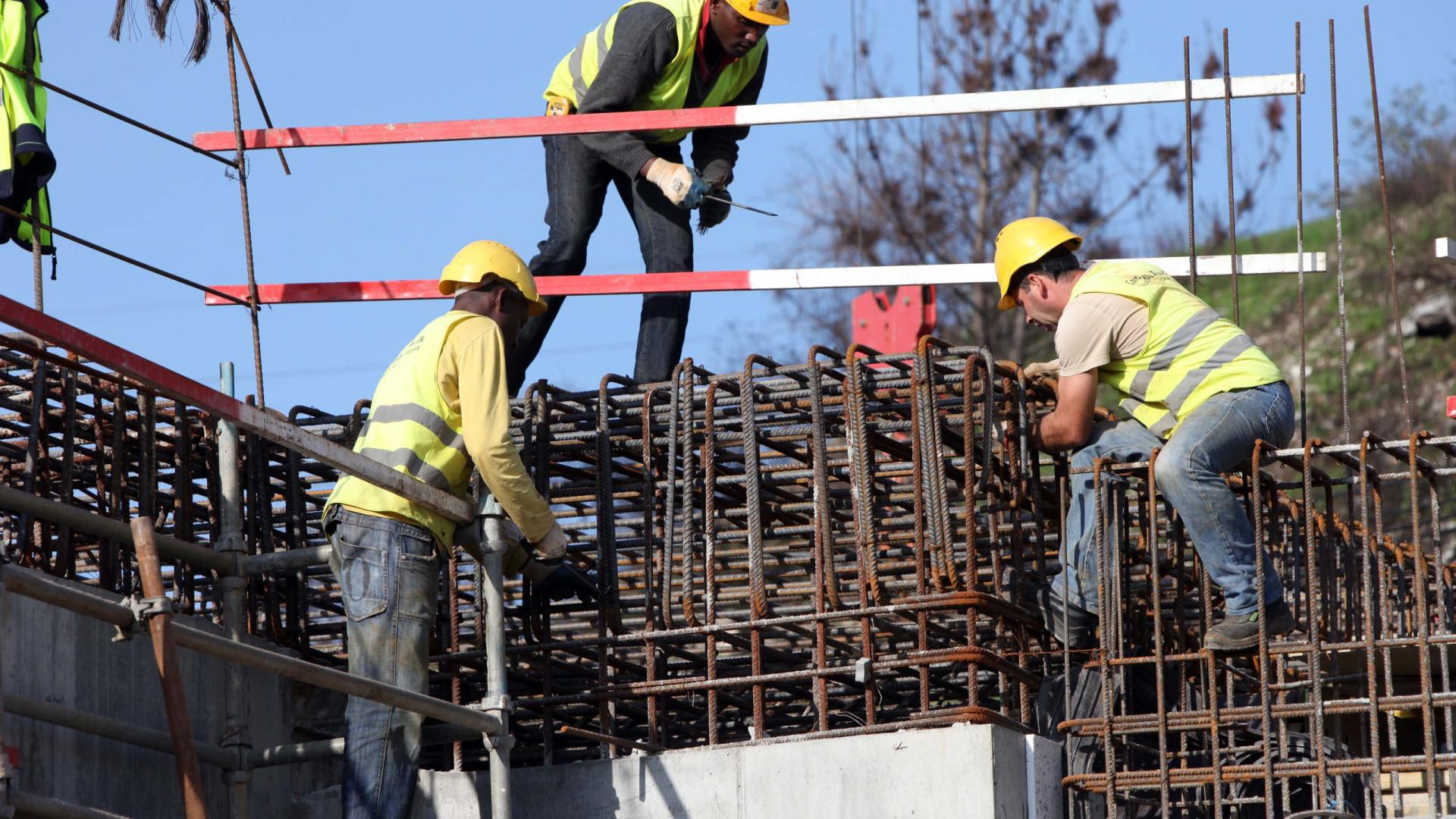Produção no setor da construção cresce 7,1% em fevereiro na zona euro