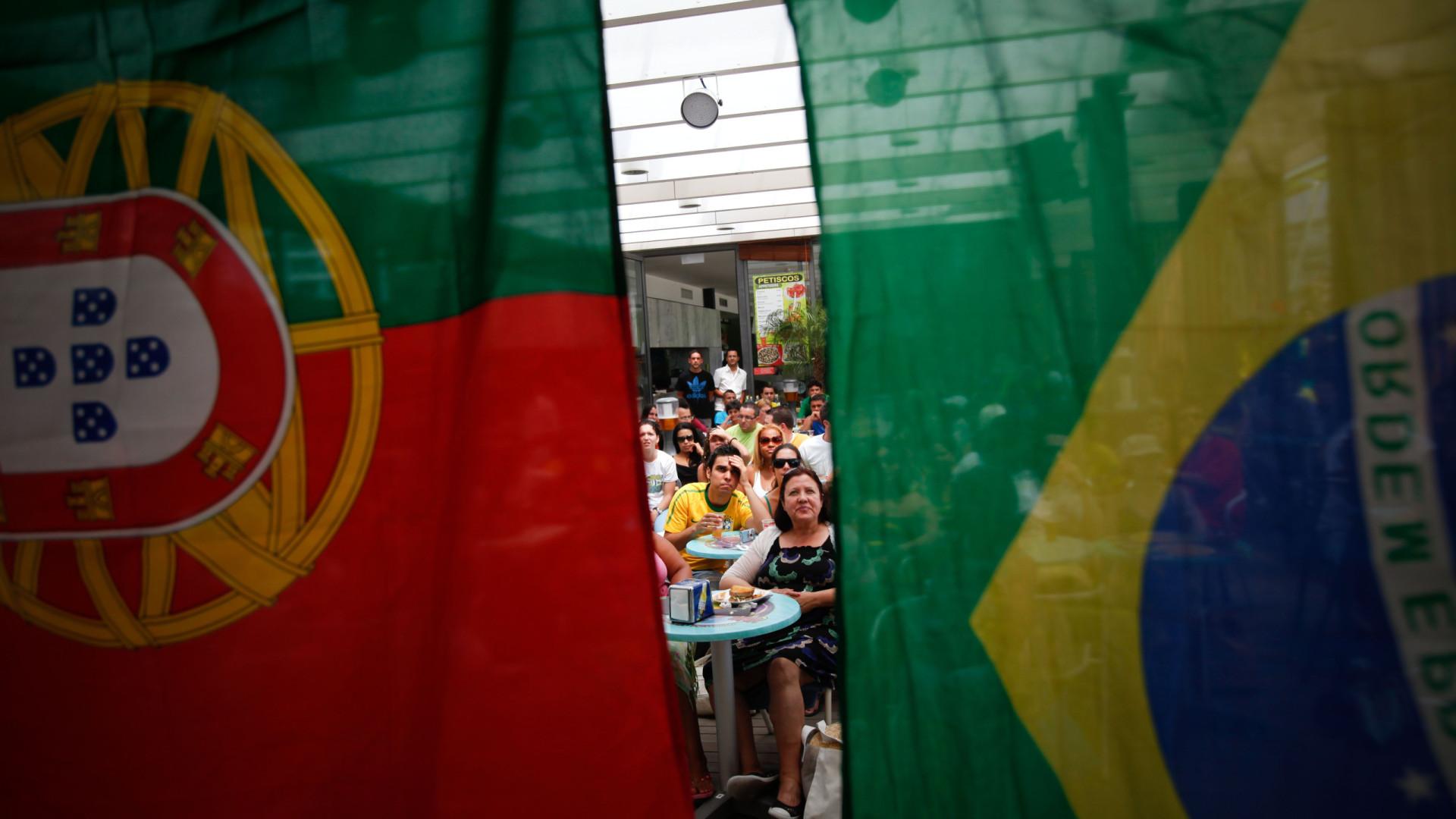 """""""Eu não sei onde Portugal vai colocar tanto brasileiro, todos querem vir"""""""