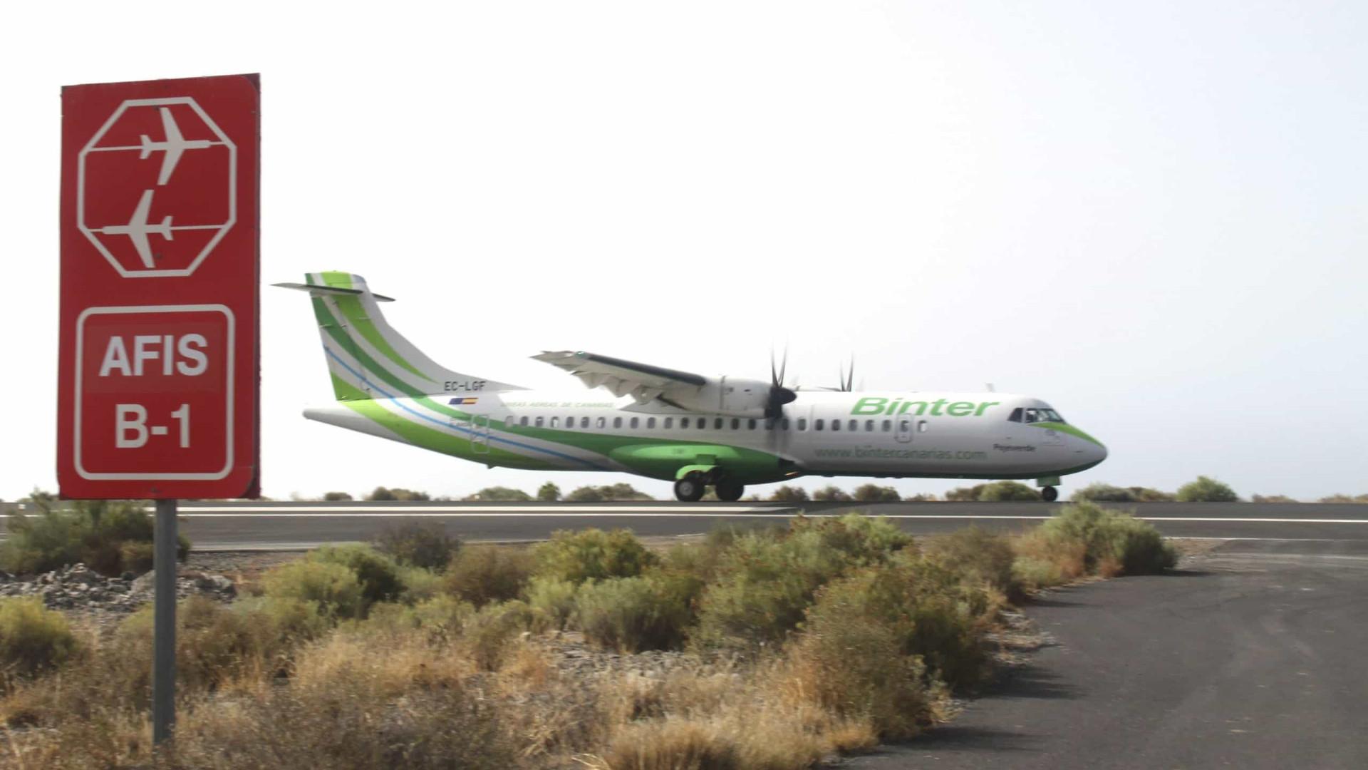 Binter cancela voos para três ilhas cabo-verdianas devido à bruma seca