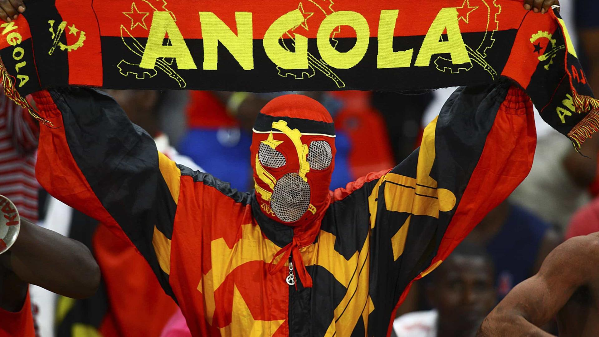 Angola goleia Mauritânia e sobre à liderança do grupo