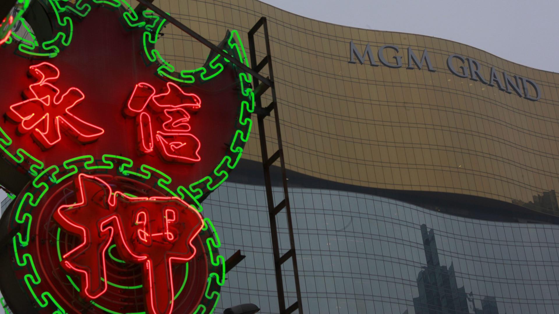 Lucros da MGM em Macau subiram 32% para 2,4 mil milhões de dólares