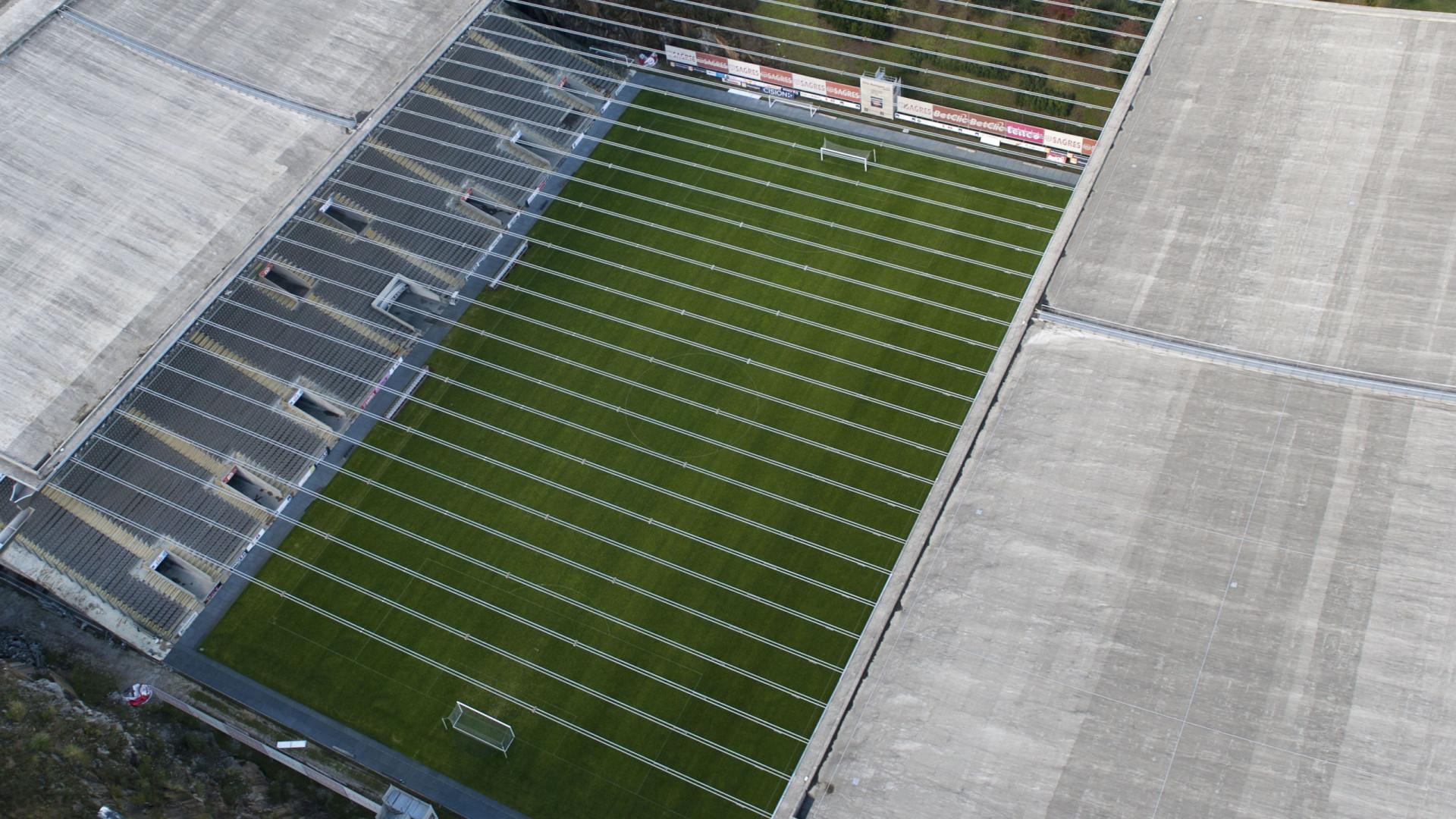 """Câmara de Braga condenada por """"trabalhos a mais"""" nas obras do Estádio"""