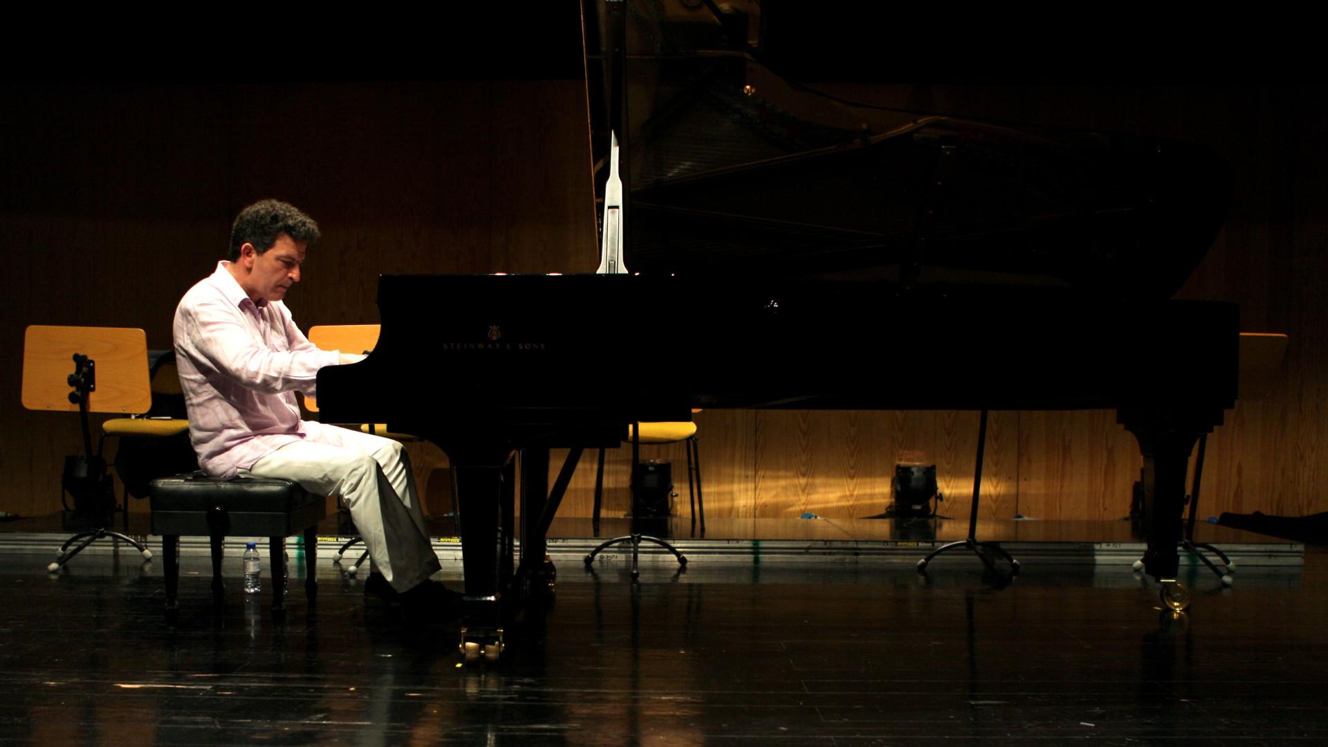 António Rosado com a Orquestra Sinfónica Metropolitana em Madrid