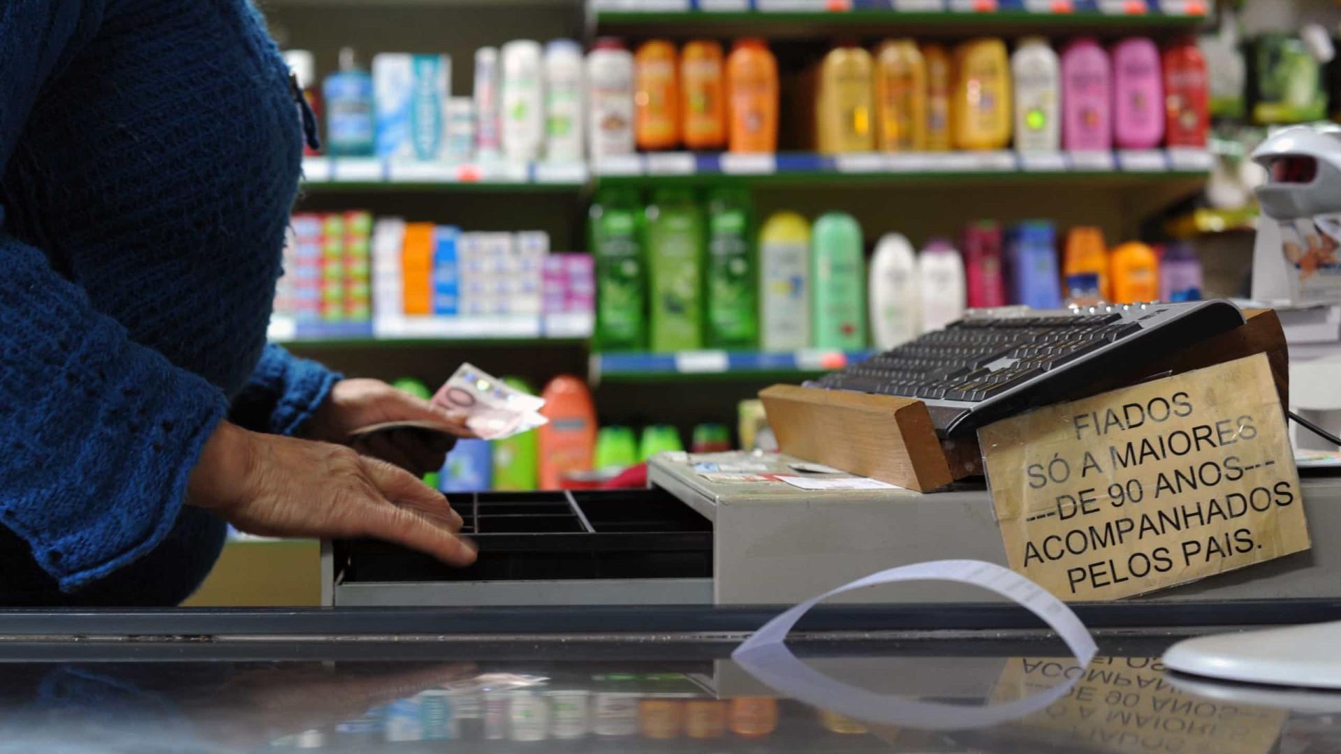 Portugal com terceira subida mensal da UE nas vendas a retalho