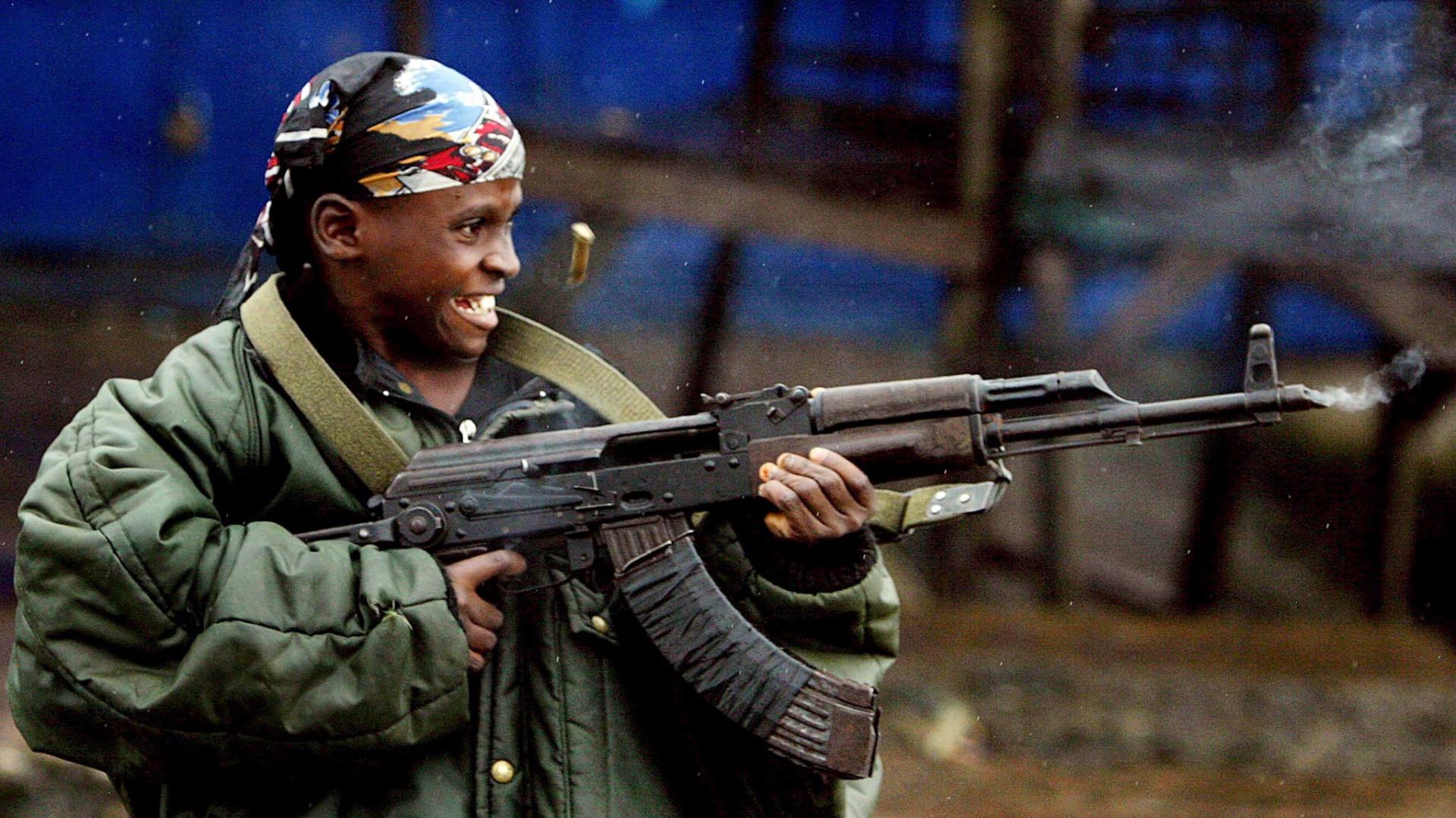 Seis nações africanas entre as piores para ser criança em zona de guerra