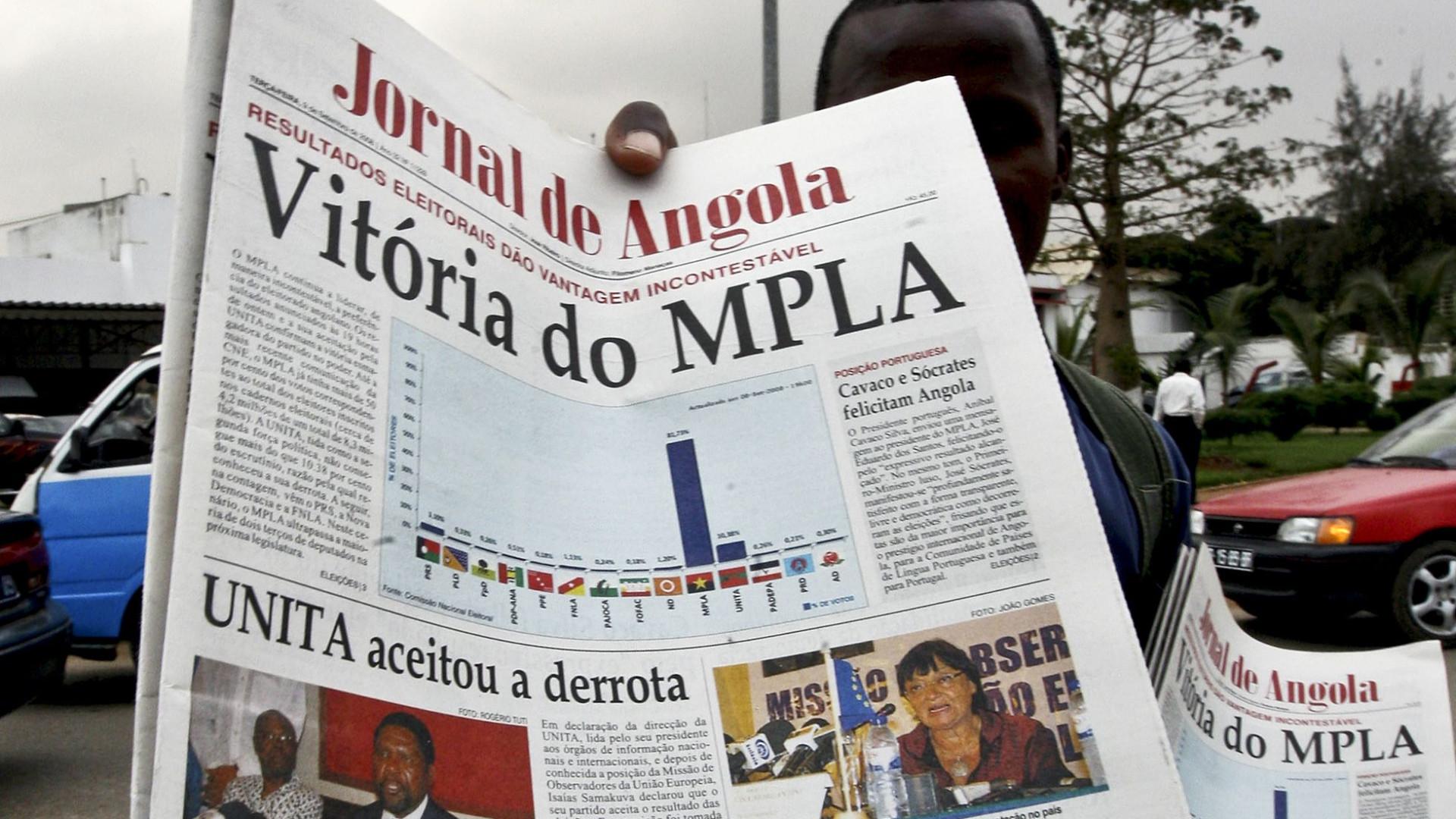 """Nova legislação em Angola """"ameaça liberdade de imprensa"""""""