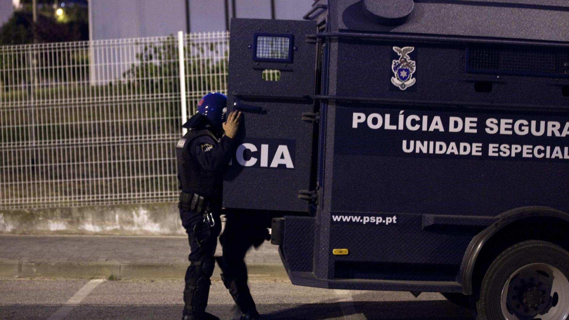 """PSP nega """"identificação de risco terrorista"""". Admite medidas preventivas"""