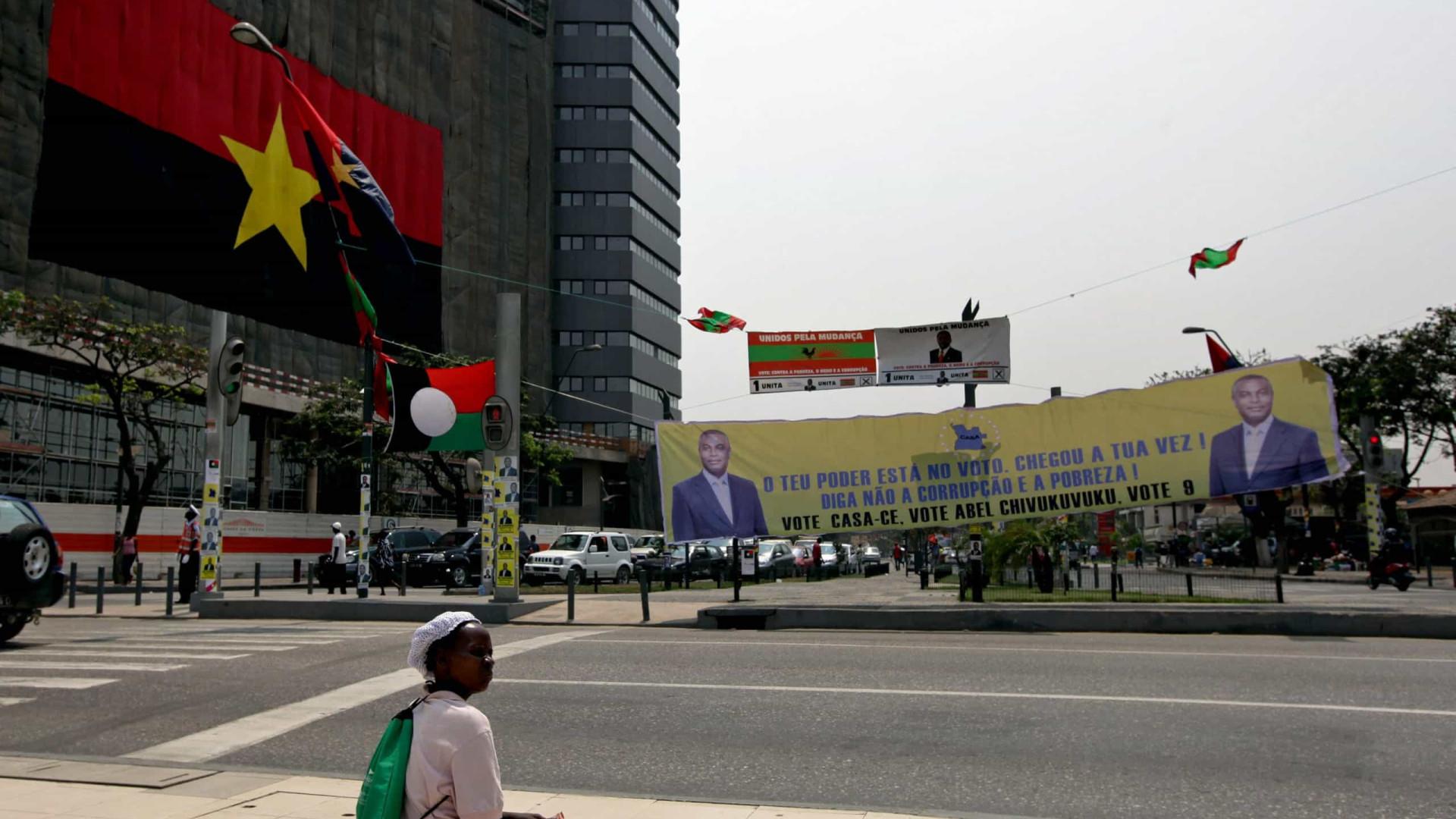Governo angolano só prevê dívida pública nos 60% do PIB em 2022