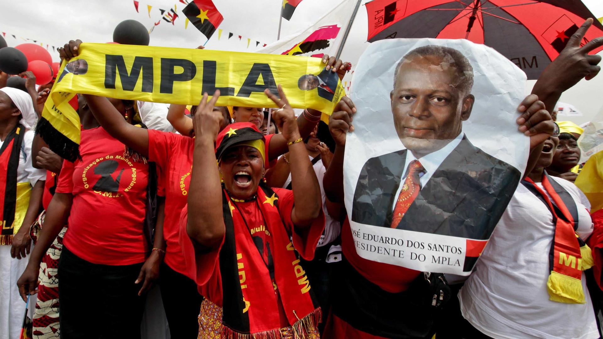 MPLA convoca reunião do Comité Central para sexta-feira em Luanda