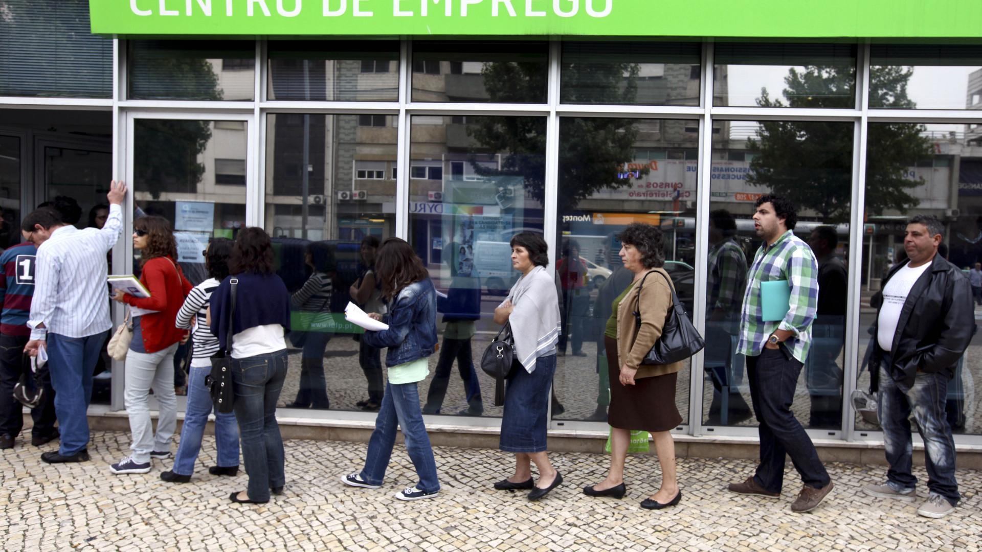 Número de beneficiários de prestações de desemprego caiu 16,4%