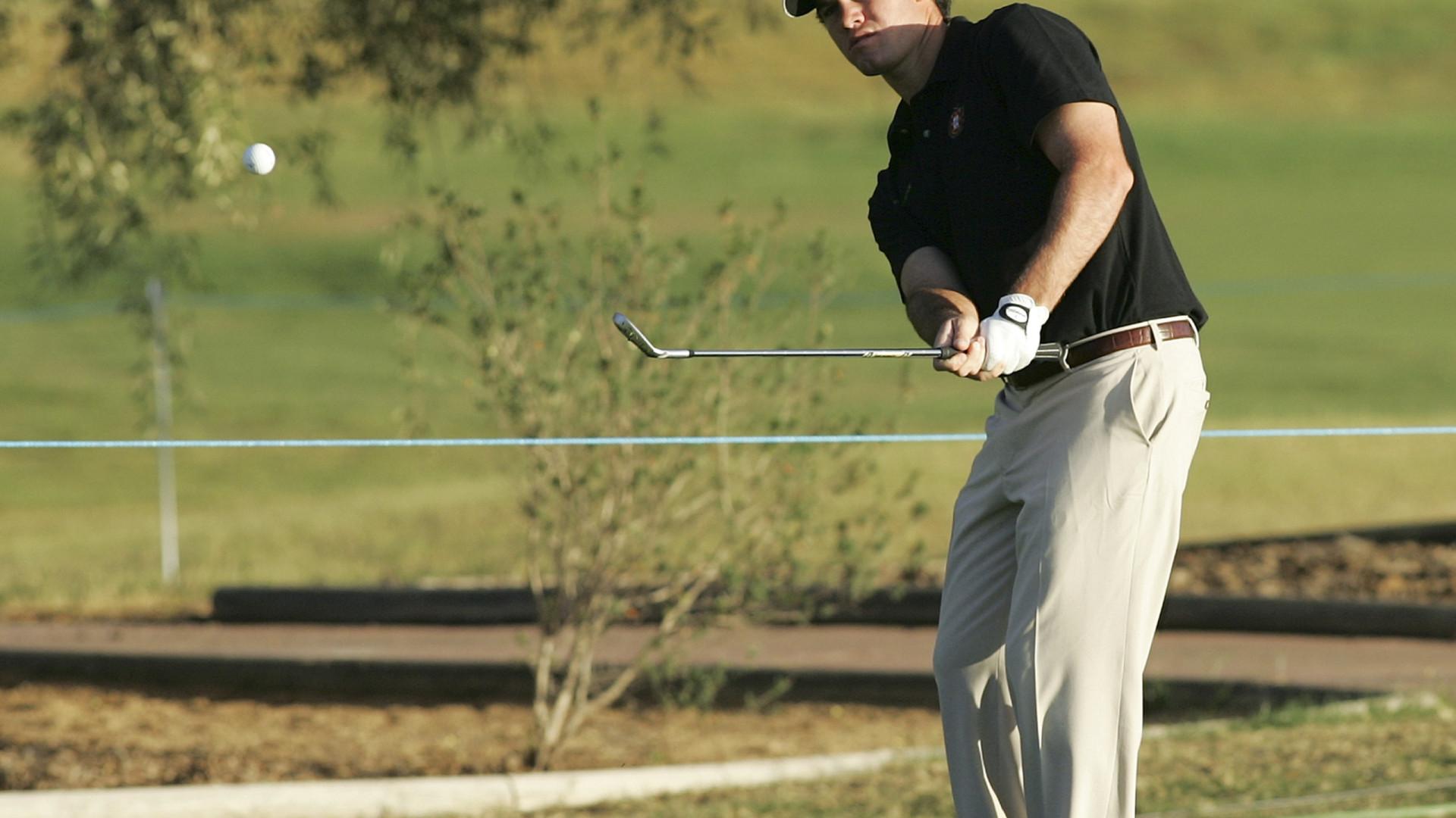 Golfista Melo Gouveia segue em 111.º lugar no NBO Open