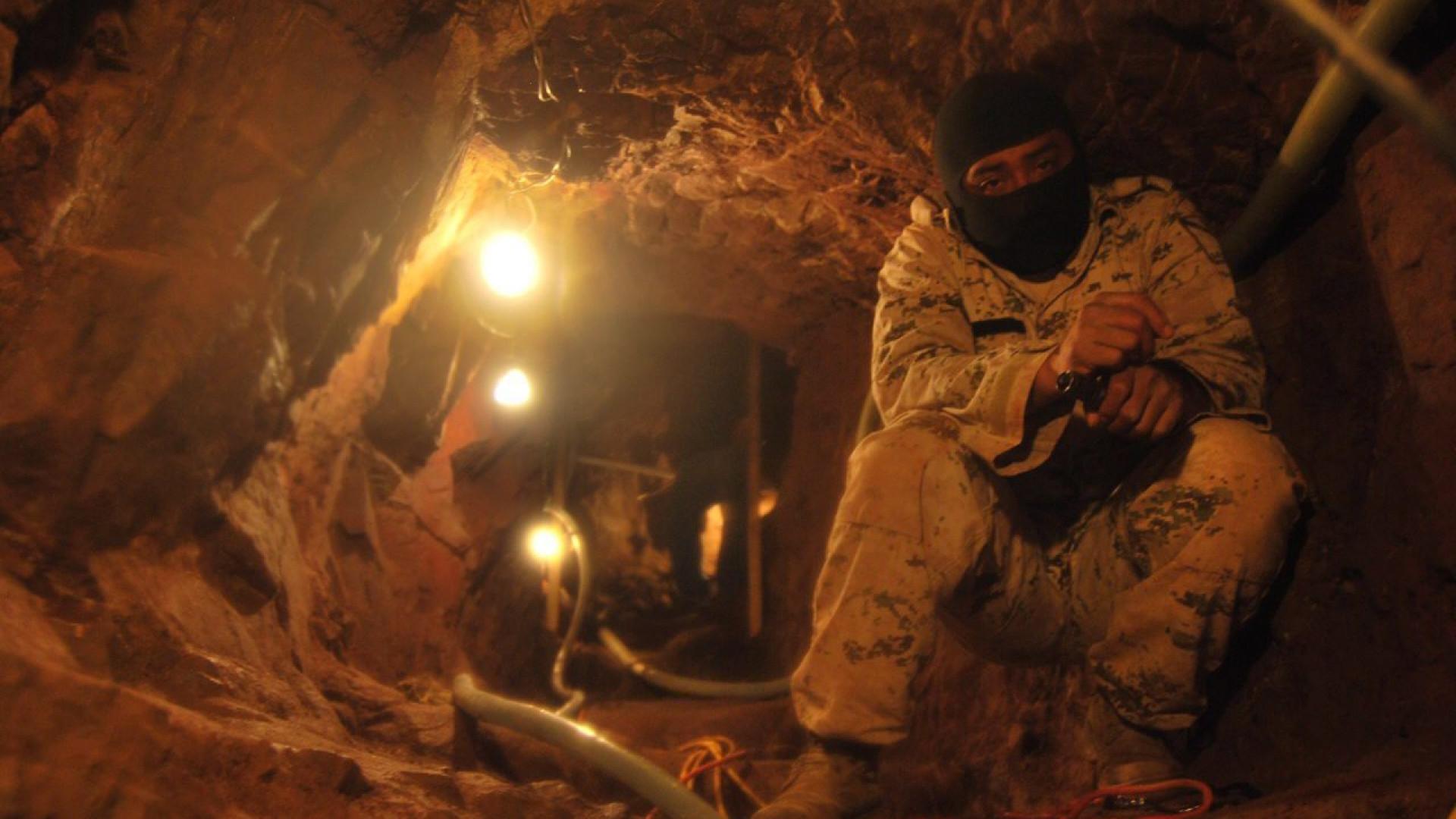 Descoberto túnel para tráfico de droga na fronteira do México com EUA