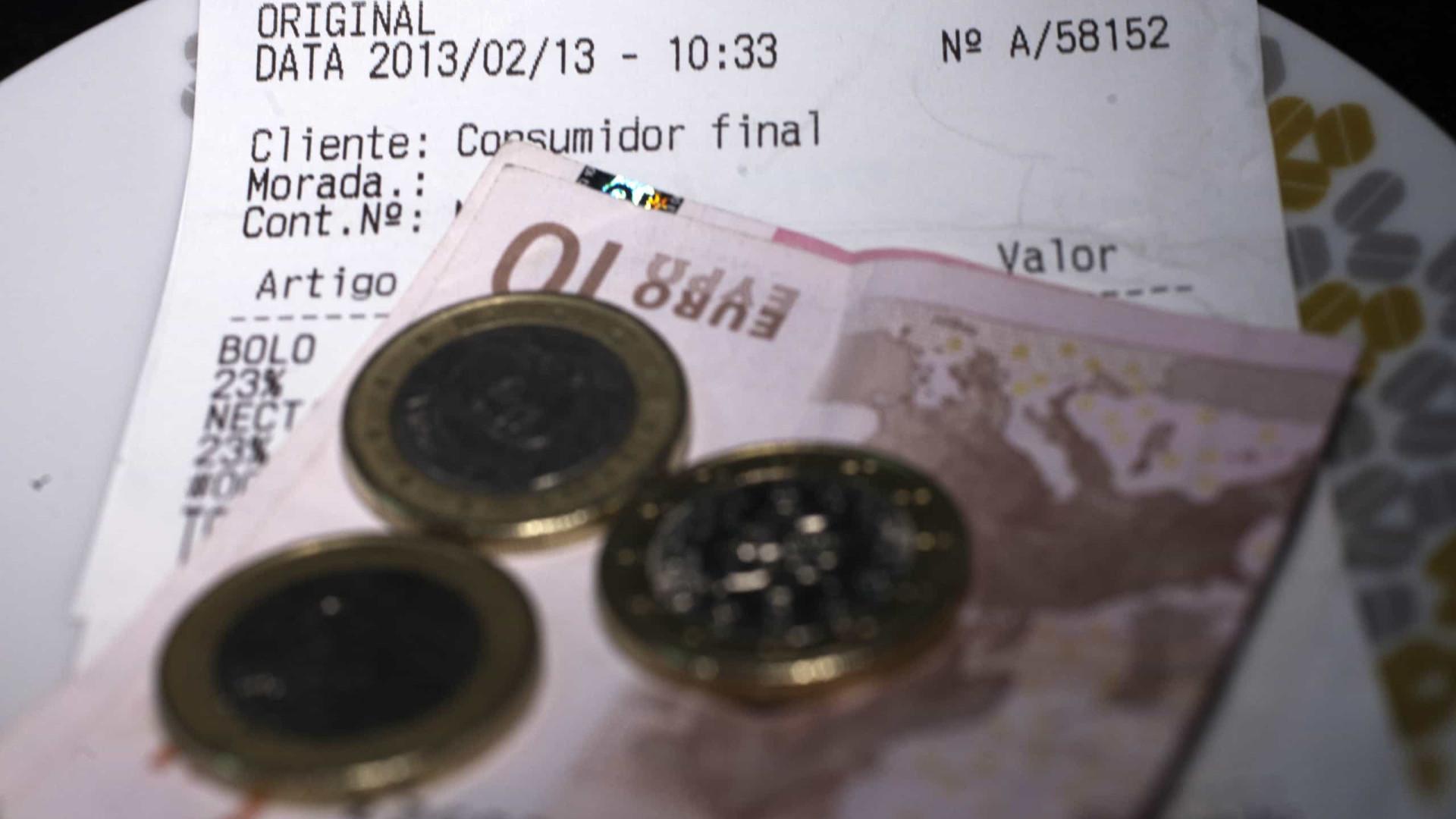 Atenção restaurantes, faturas com 'prato do dia' dão direito a multa