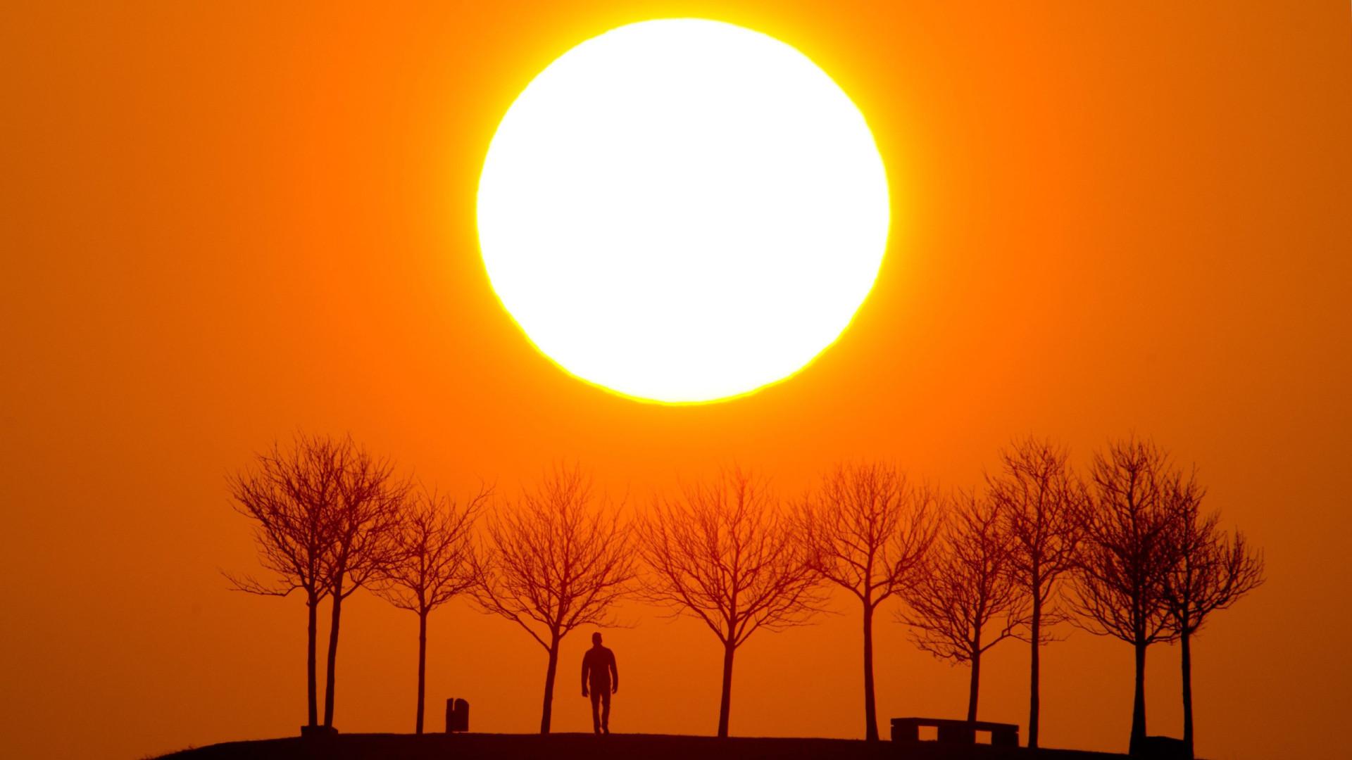 Calor começa a subir acentuadamente a partir de hoje em Portugal