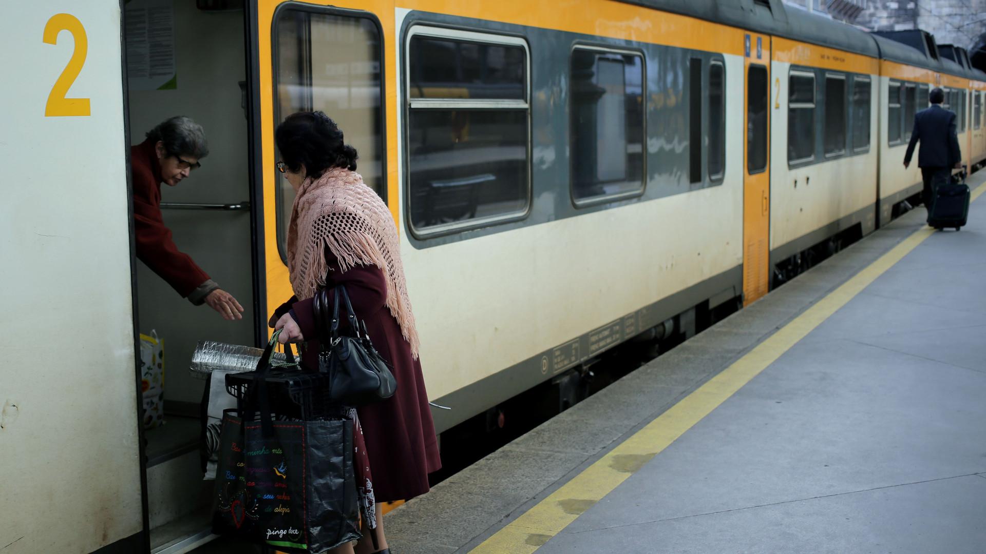 Protestos contra substituição de comboios Intercidades por automotoras