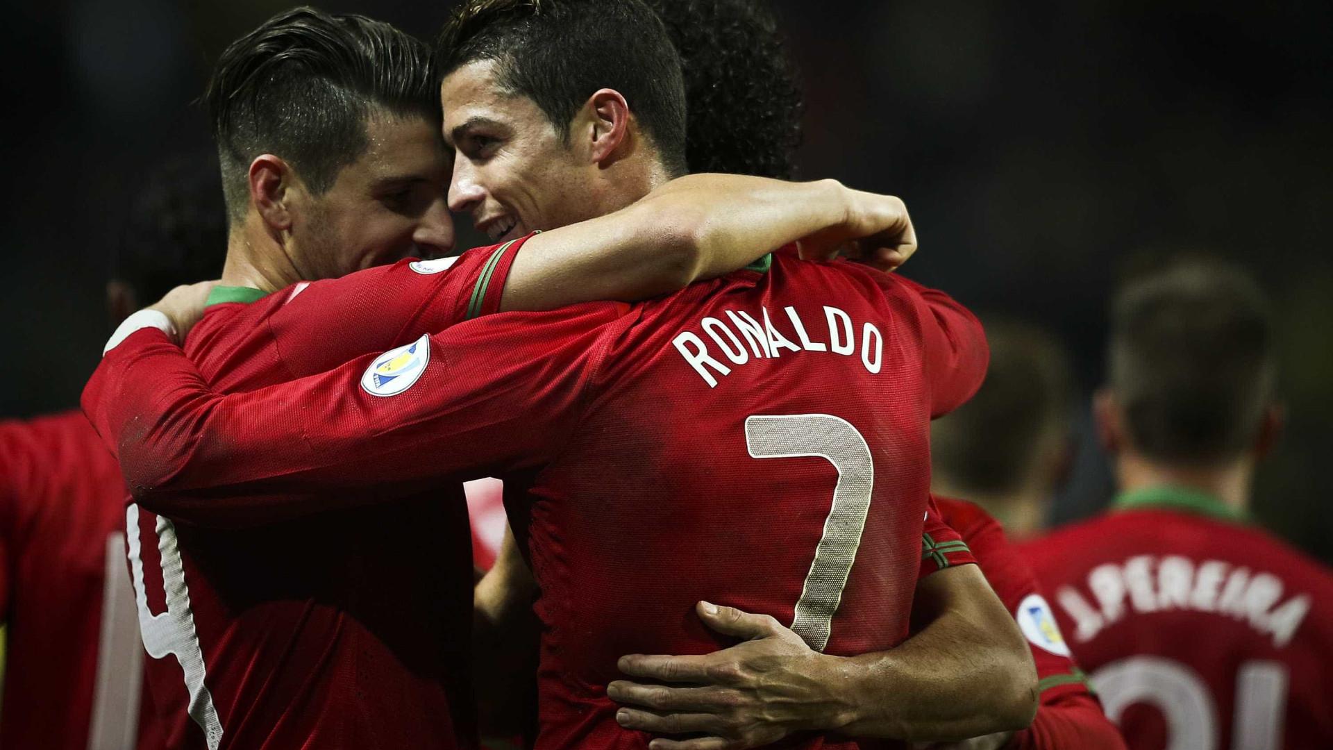 Portugal ruma ao Brasil com  hat-trick  de Ronaldo 331a91d68eb45