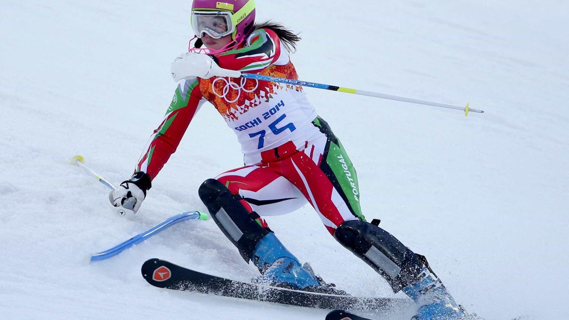 Esquiadora olímpica portuguesa Camille Dias termina carreira