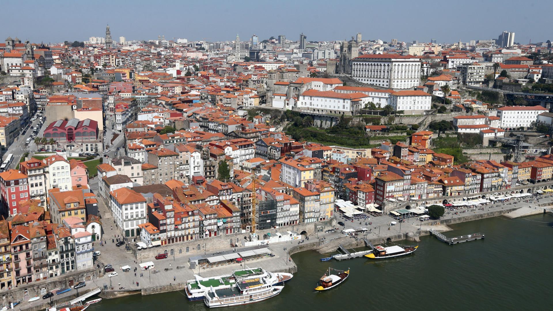 Porto com maior crescimento de receitas turísticas na Europa este ano