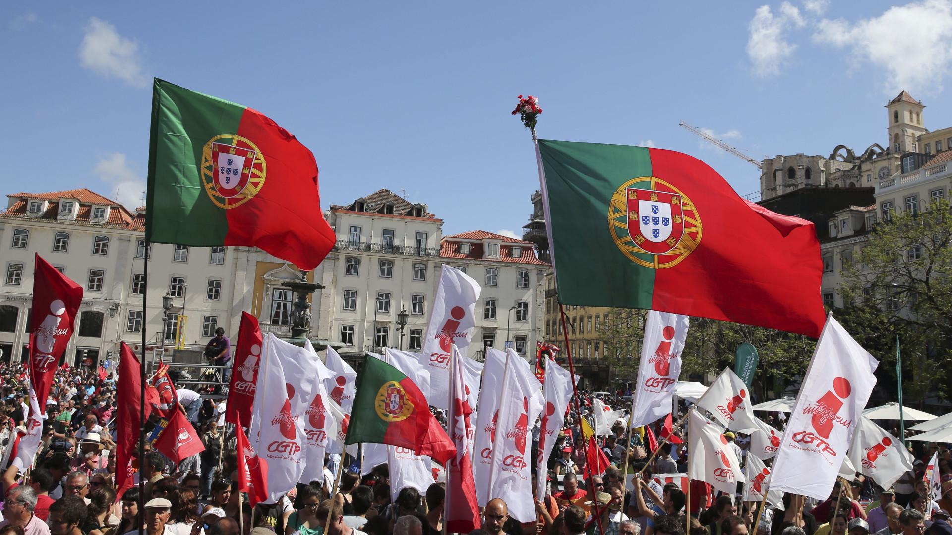 Milhares na manifestação da CGTP pela valorização das pessoas