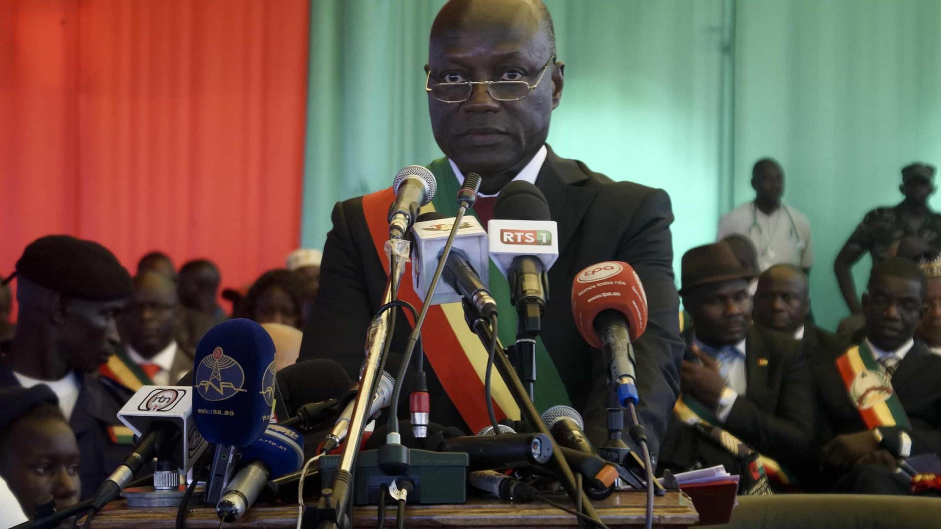 Presidente da Guiné-Bissau exonera ministro do Interior