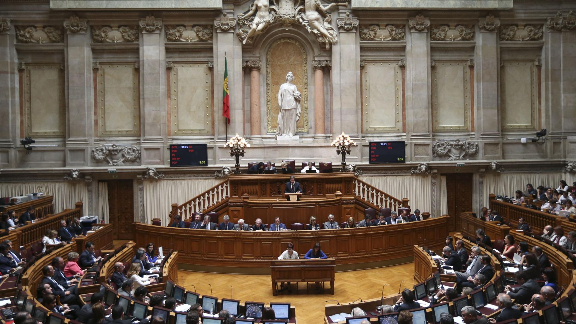 Parlamento define que cativações não passam 90% do aprovado para 2017