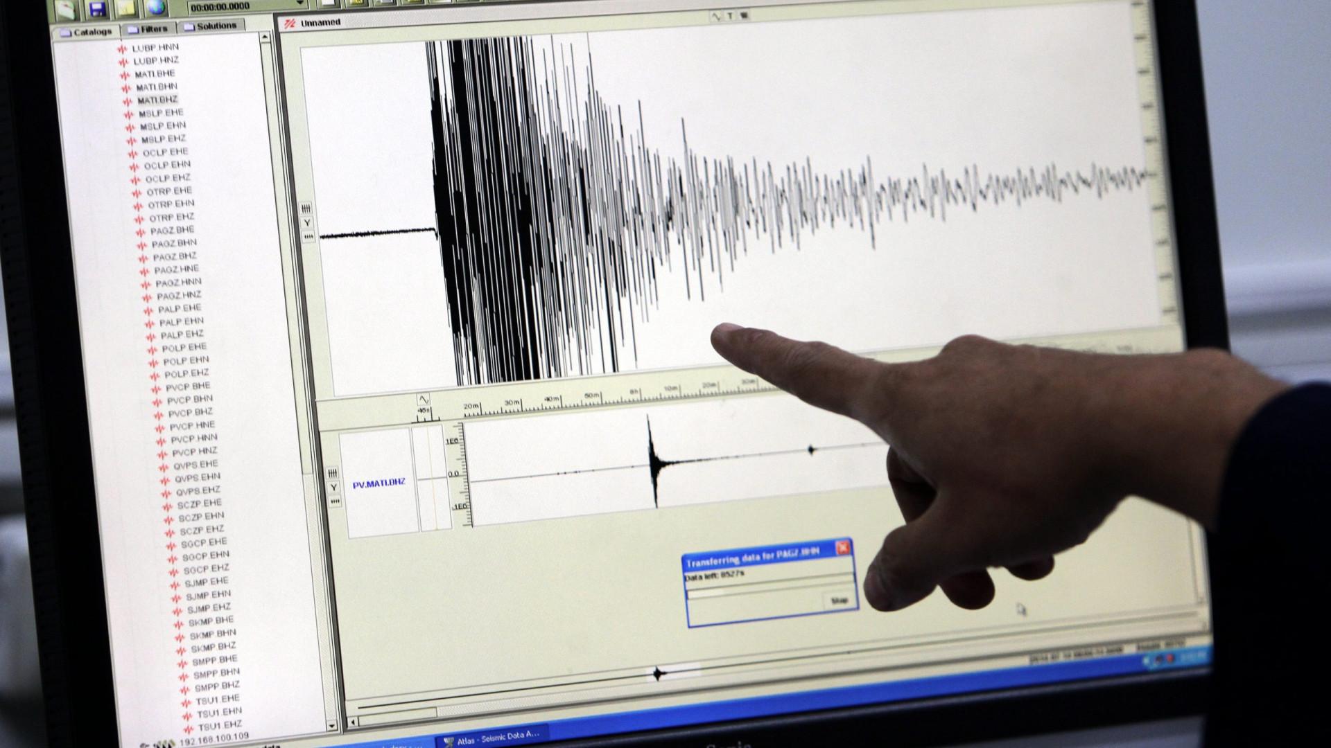 Sismo de magnitude 5,9 registado no sul das Filipinas