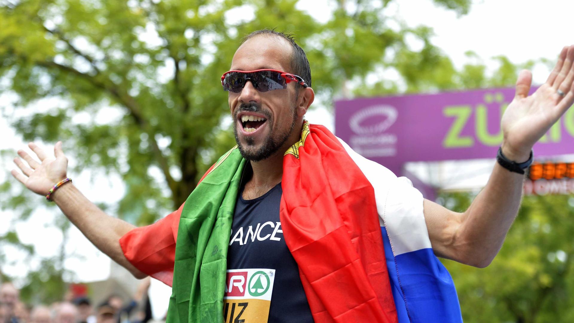Luso-francês conquista  ouro nos 50km marcha dos Mundiais de atletismo