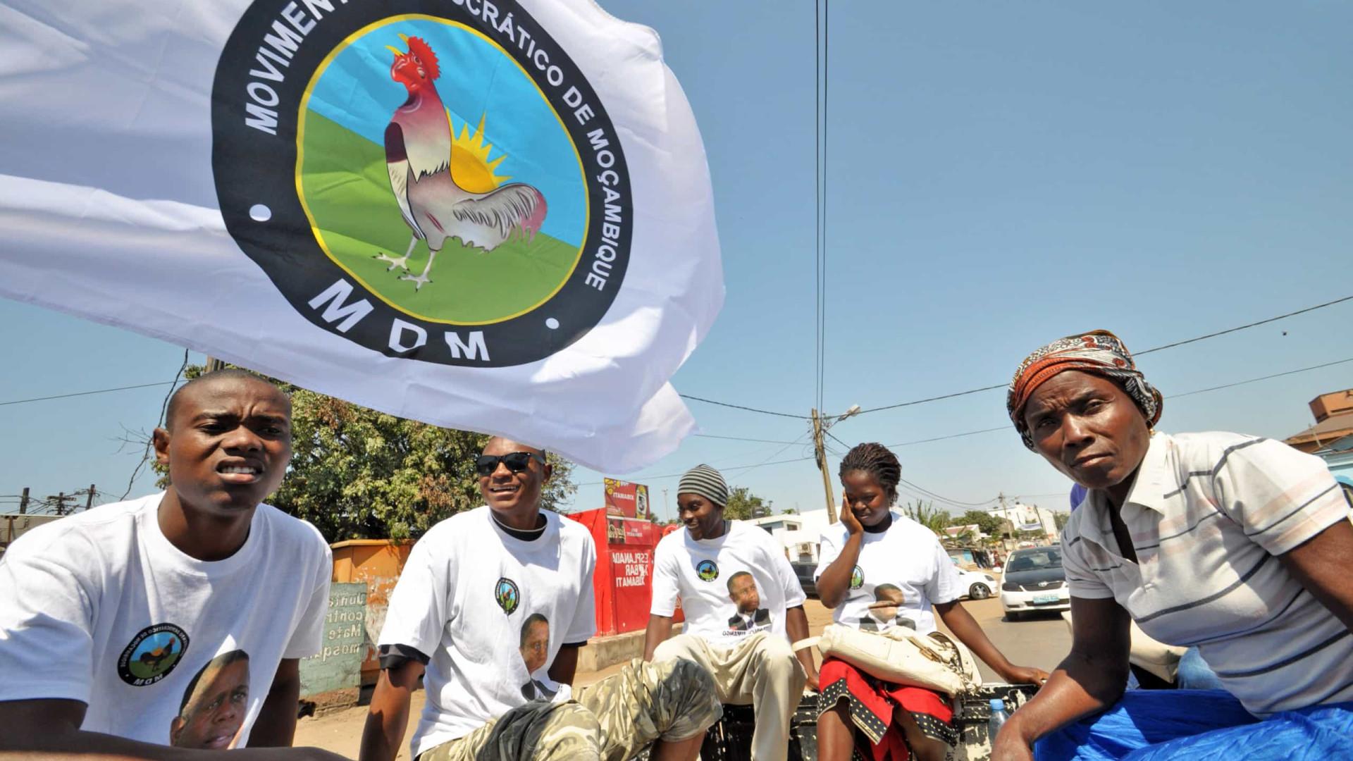 Terceiro maior partido moçambicano indica cabeças-de-lista às municipais