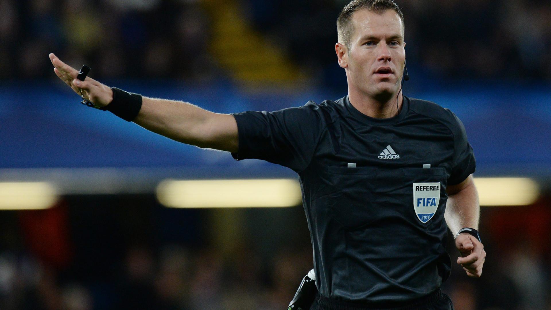 Já é conhecido o árbitro do embate entre Portugal e a Itália