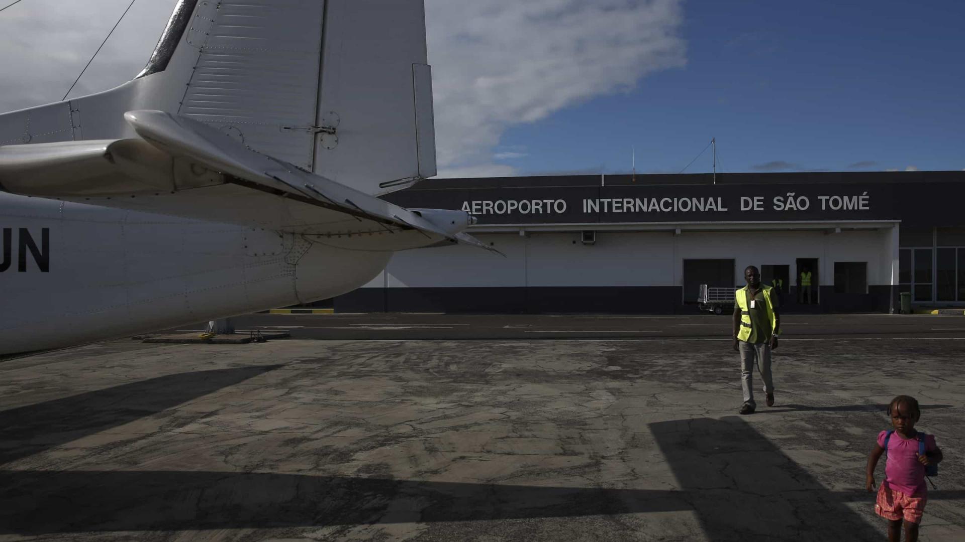 Avião russo despenha-se no aeroporto de São Tomé, cinco feridos