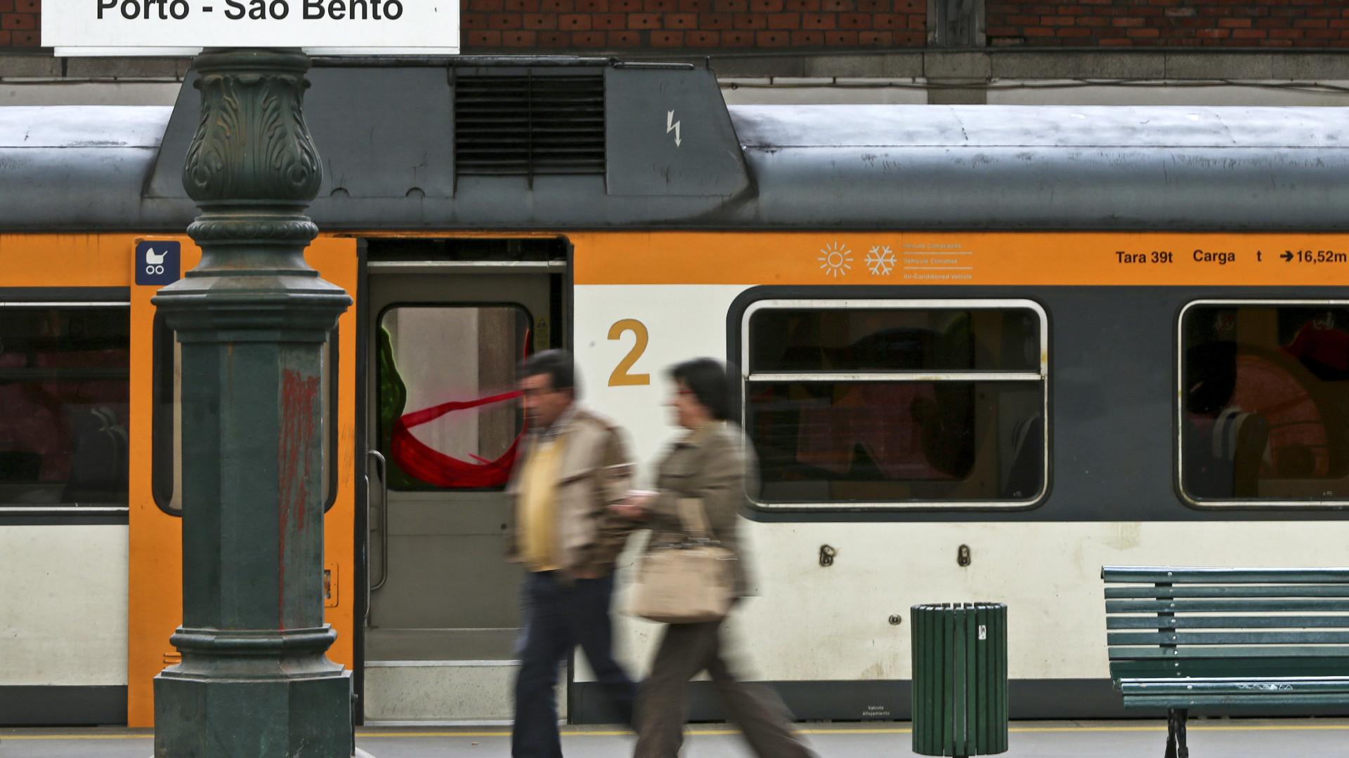 Andante válido a partir de hoje para comboios do Porto à Trofa