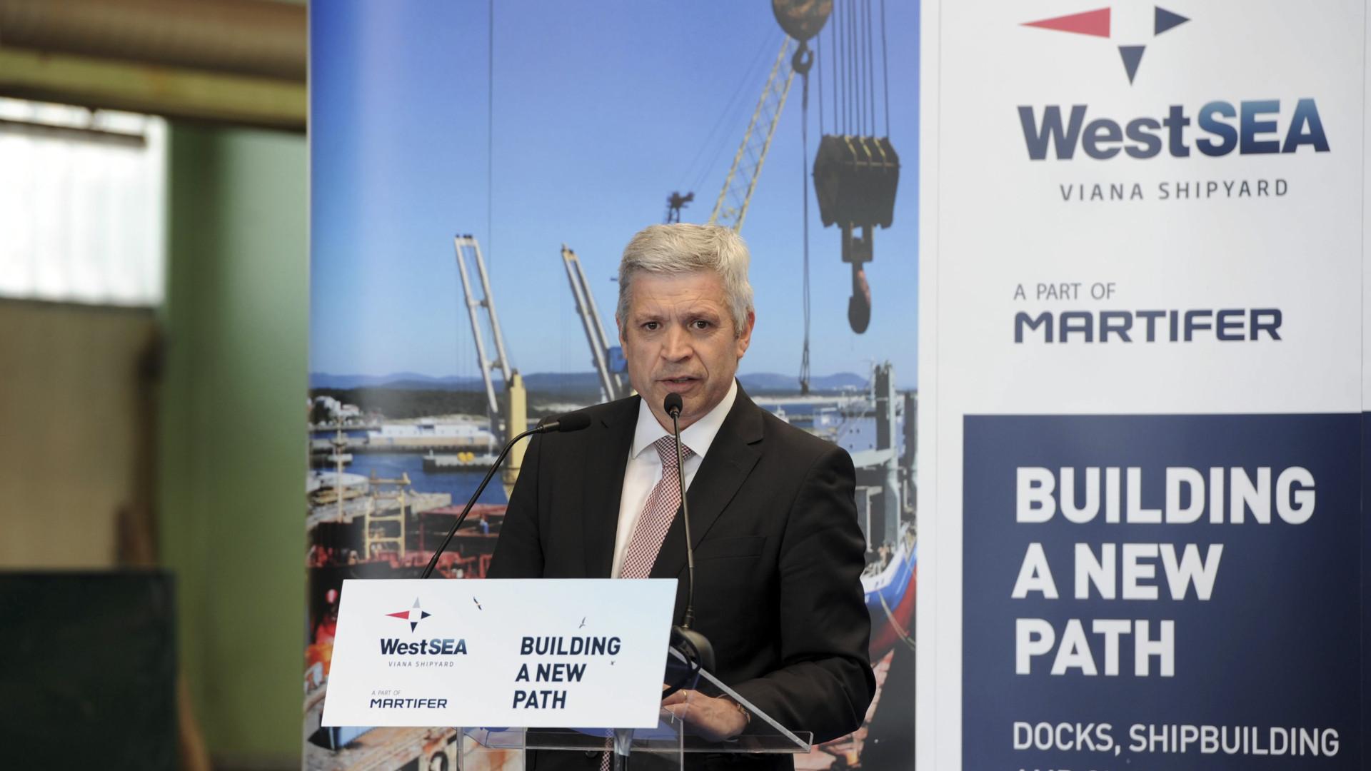 West Sea vai construir dois navios no valor de 118 milhões de euros