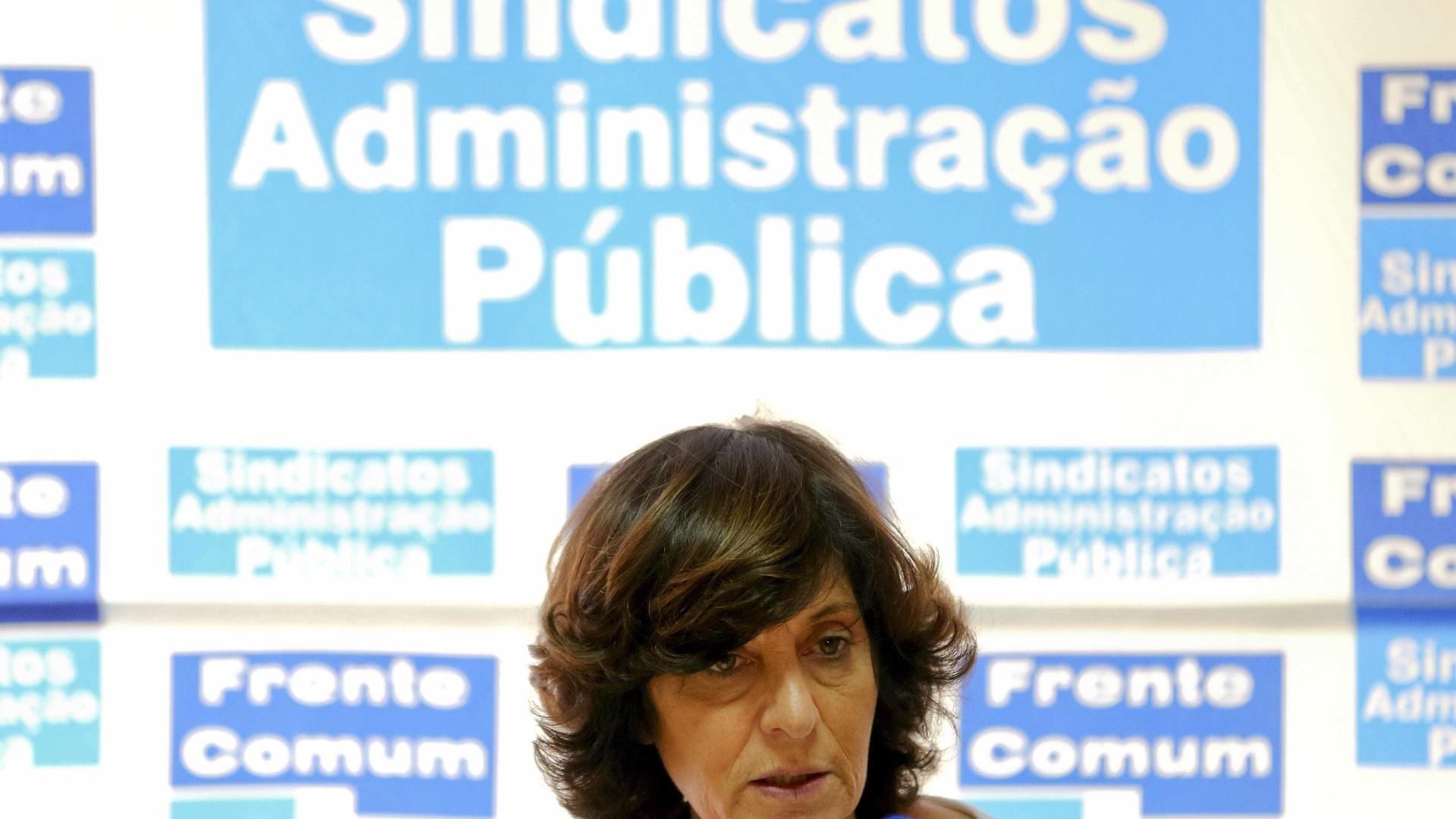 Frente Comum admite greve se Governo não propuser aumentos esta semana