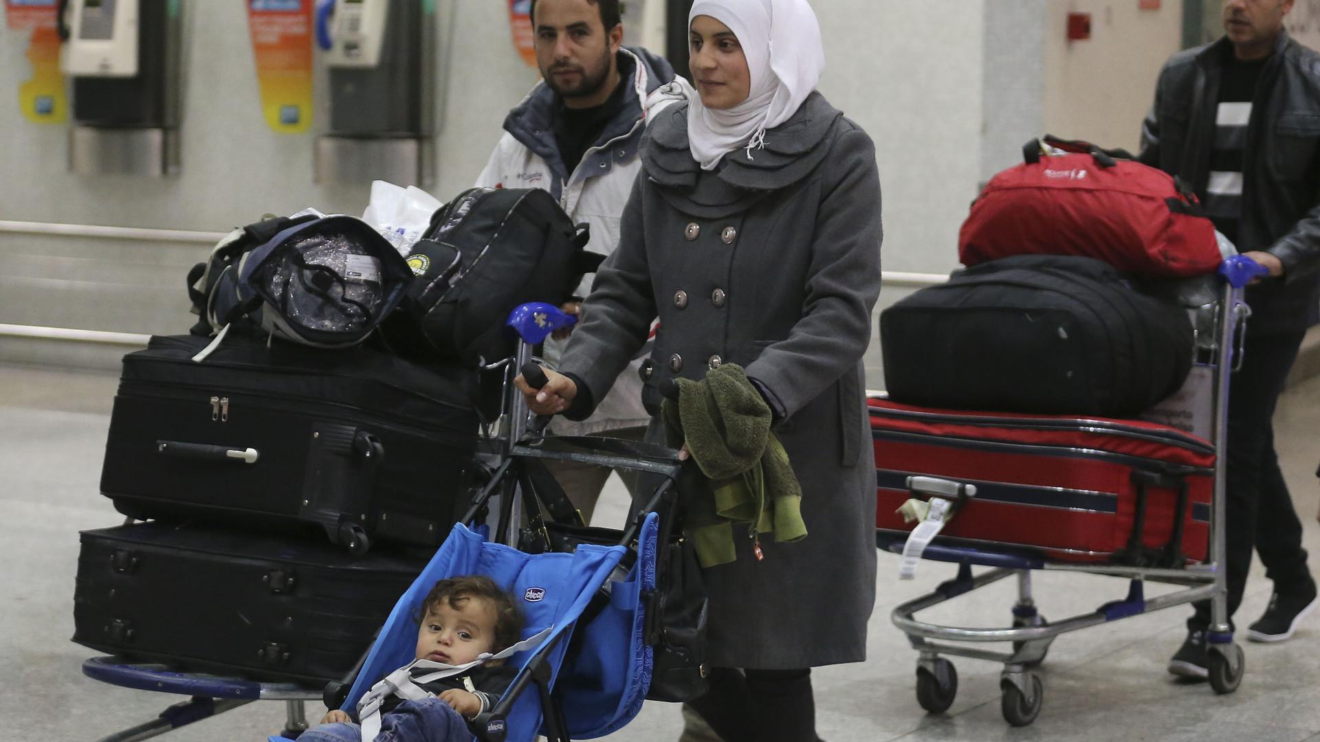 Acolher refugiados cá tudo bem, imigrantes é que nem por isso