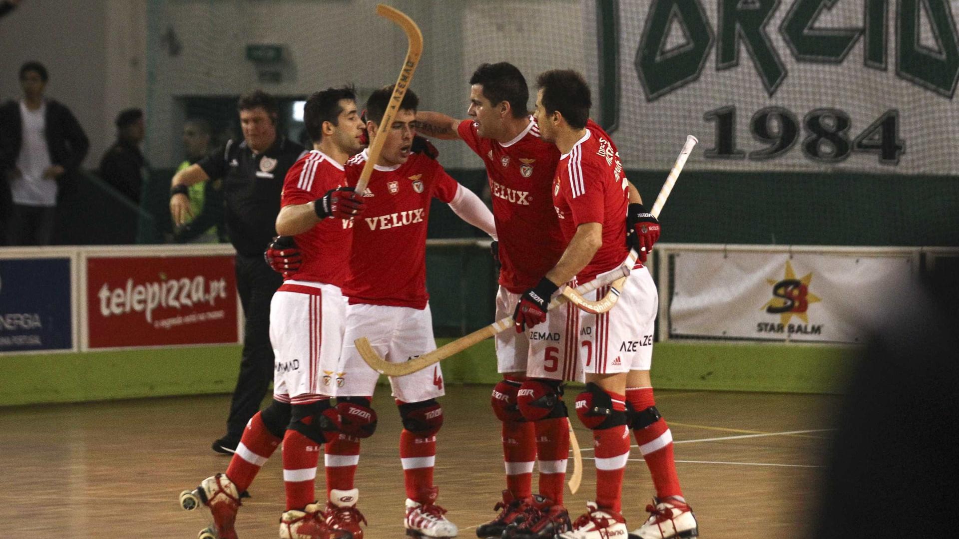 ade7d01a726ff Benfica bate Barça e está na final da Liga Europeia de hóquei em patins