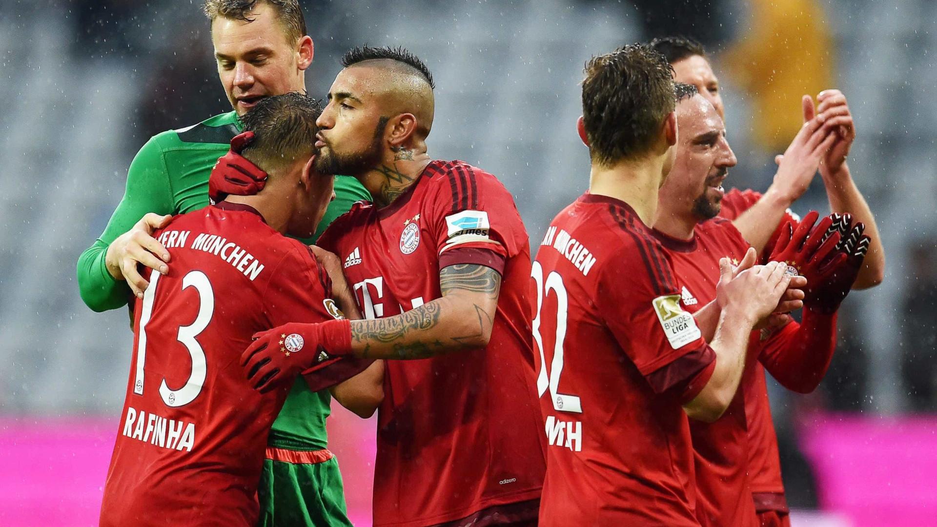 42a2e41888 O Bayern Munique tem o pleno de apuramentos frente a equipas portuguesas