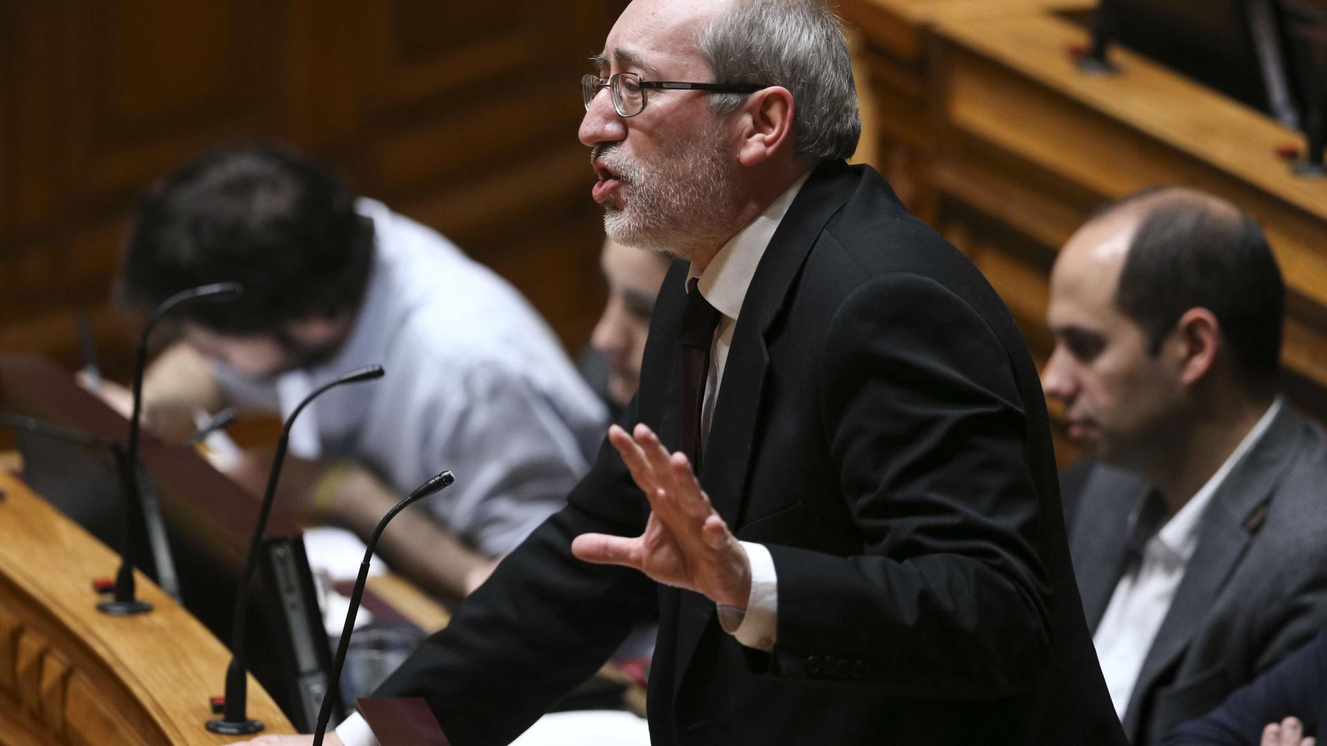 PCP remete declarações de Rocha Andrade para próprio