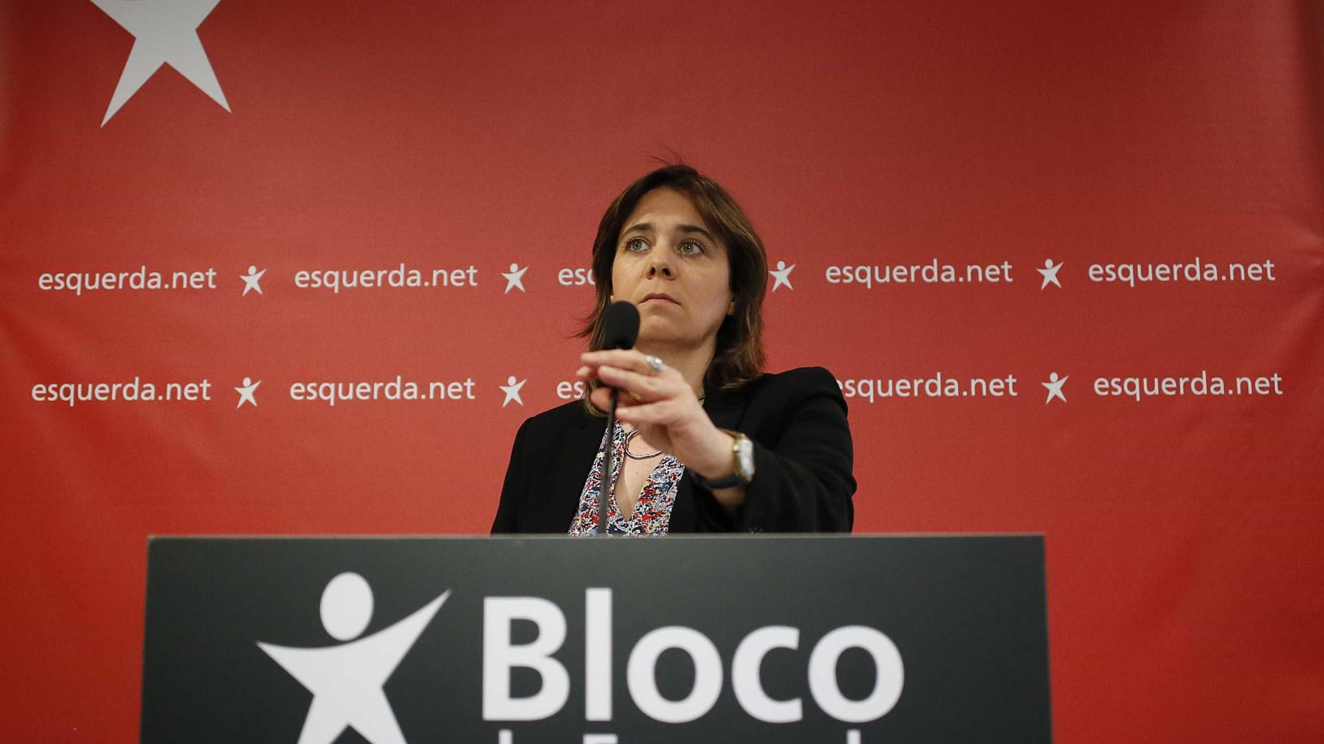 """Bloco considera """"lamentável"""" chumbo de condenação a prisão de ativistas"""