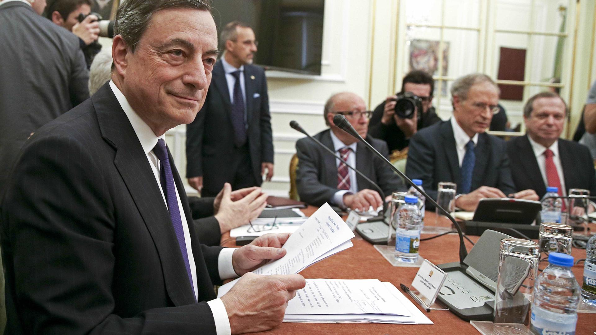 Eis o que Mario Draghi disse na reunião do Conselho de Estado